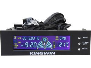 KINGWIN FPX-002 Performance LCD Fan Controller Black