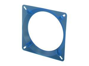 Bgears Fan Adapter 140mm-BL 140mm to 120mm Fan Adapter for 140mm fan install on 120mm chassis screw holes, UV Blue