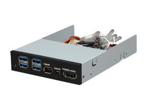 "BYTECC UFE-421 3.5"" USB3.0/Firewire 400/POWER e-SATA Combo Internal HUB"