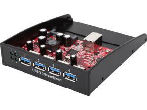 Startech 35BAYUSB3S4 USB 3.0 Front Panel 4 Port Hub