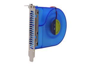"Spire CF401B UV Reactive Exhauster Case ""Bracket"" ventilator"