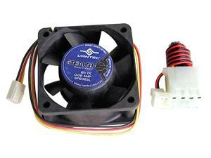 Vantec Stealth 60mm Double Ball Bearing Silent Case Fan - Model SF6025L