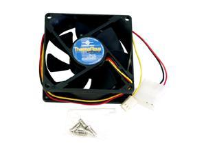 Vantec Thermoflow 80mm Double Ball BearingTemperature Controlled Case Fan - Model TF8025L