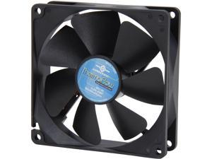 Vantec Thermoflow 92mm Double Ball BearingTemperature Controlled Case Fan - Model TF9225L