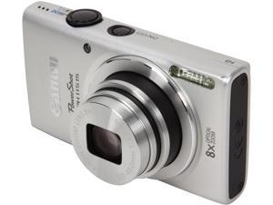 Canon PowerShot ELPH 115 IS 8602B001 Silver 16 MP 28mm Wide Angle Digital Camera