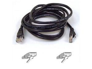 BELKIN A3L791-10-BLK 10 ft. Cat 5E Black Patch Cable