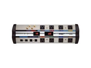 MONSTER MP HTS 1000 MKIII 8 ft. 8 Outlets 6125 joules Home Theater PowerCenter HTS 1000 MKIII with Clean Power Stage 2