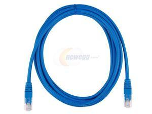 Rosewill RCW-511 10ft. /Network Cable Cat 5E /Blue