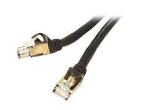 Rosewill RCW-50-CAT7-BK 50 ft. Cat 7 Black Shielded Twisted Pair (S/STP) Networking Cable