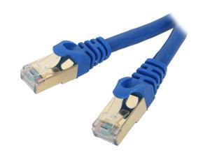 Rosewill RCW-50-CAT7-BL 50 ft. Cat 7 Blue Shielded Twisted Pair (S/STP) Networking Cable