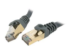 Rosewill RCW-1-CAT7-GE 1 ft. Cat 7 Grey Color Shielded Twisted Pair (S/STP) Networking Cable