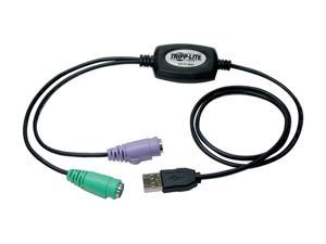 Tripp Lite Model B015-000 USB to PS/2 Adapter