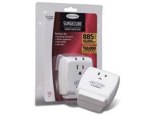 BELKIN F9H100-CW 1 Outlets 885 joules SurgeCube