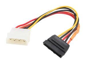 "OKGEAR GC8ATAL 8"" molex 4pin male to 15pin SATA power  cable"