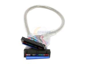 """OKGEAR 18"""" Floppy Round Cable,Silver - OEM"""