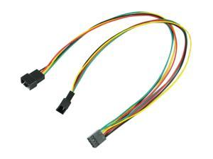 "OKGEAR FC444PWM-12 12"" 4pin PWM fan Y cable"