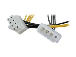"OKGEAR PP-P4XEON 14"" Molex 4 pin to ATX 8 pin cable"