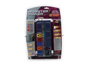 MONSTER POWER MPAV800RP 8-Outlet PowerCenter(TM) (With coaxial protection)