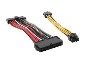 "Silverstone PP04 6"" ATX extension cable kit"