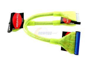 "Thermaltake 18"" IDE(ATA66/100/133) Yellow Round Cable"