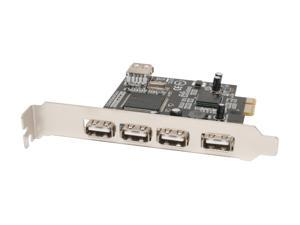 SYBA PCI-Express USB 2.0 5 Ports Controller Card Model SD-PEX-NEC5U