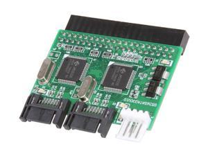 SYBA SY-ADA45005 IDE to Dual SATA2 Adapter, Convert SATA & SATA2 Devices to IDE Port, RoHS.
