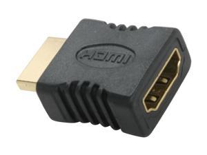 SYBA CL-ADA31014 HDMI Male (19-pin) to HDMI Female (19-pin) Adapter, RoHS - OEM