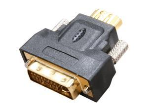 SYBA CL-ADA31011 Gold-plated HDMI Female to DVI-I Male Adapter - OEM