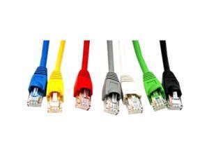 Link Depot C6M-1-BKB 1 ft. Cat 6 Black Network Cable
