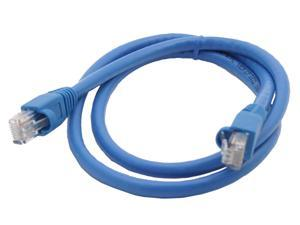 Link Depot C6M-3-BUB 3 ft. Cat 6 Blue Color Network Cable