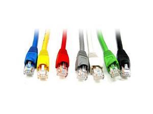 Link Depot C6M-100-BKB 100 ft. Cat 6 Black Network Cable