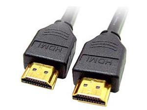 Link Depot HDMI-2-HDMI 6 ft. Black HDMI to HDMI A/V Cable Male to Male