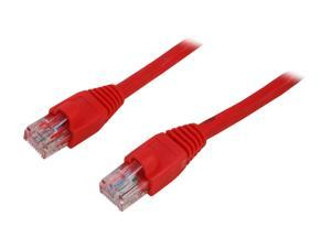 Link Depot C6M-14-RDB 14 ft. Cat 6 Red Network Cable