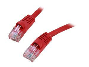Link Depot C6M-25-RDB 25 ft. Cat 6 Red Network Cable