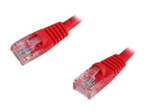 Link Depot C5M-75-RDB 75 ft. Cat 5E Red Network Ethernet Cable