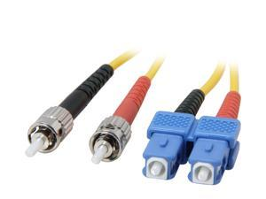 Link Depot FOS9-STSC-1 3.28 ft. (1m) Single Mode Duplex Fiber Patch Cable ST - SC