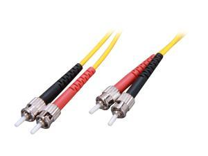 Link Depot FOS9-STST-3 9.84 ft. (3m) Single Mode Duplex Fiber Patch Cable ST - ST