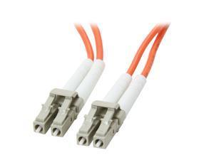 Link Depot FOM5-LCLC-3 9.84 ft. (3m) 10 Gb Multimode 50/125 Duplex LSZH Fiber Patch Cable LC - LC