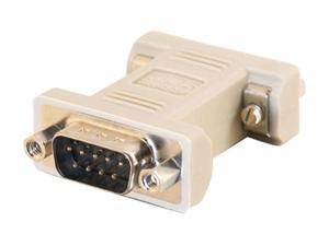 C2G 08075 DB9 Male to DB9 Female Null Modem Adapter