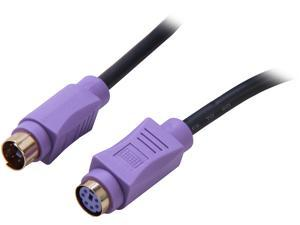 C2G Model 29613 6 ft. Ultima PS/2 Keyboard Extension Cable Male to Female