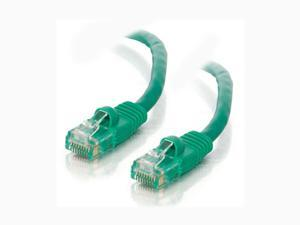 C2G 20036 50 ft. Cat5E 350 MHz Snagless M-M Patch Cable - Green