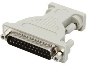 C2G 02446 DB9 Female to DB25 Male Serial Adapter