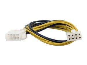 "Athena Power Cable-AD10 12"" EPS-12V (8Pin) connector Extension Cable - OEM"
