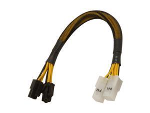 "Athena Power Cable-M84M84F 8"" Extension & Conversion Four-In-One"