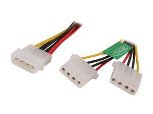"Athena Power CABLE-YPHD 8"" Molex Y Splitter Power Cable"