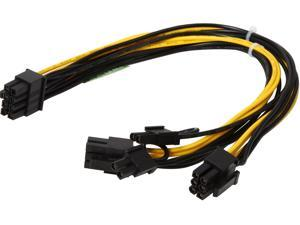 "Athena Power Cable-EPS8PCIE6282 10"" Cable Male to Male"