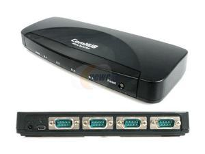 StarTech ICUSB232_4 4 Port USB to RS-232 Serial DB9 Adapter