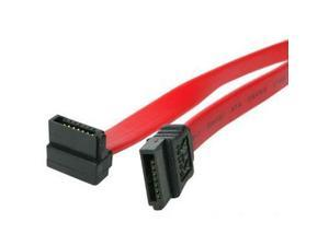 "StarTech Model SATA24RA1 24"" Right Angle SATA Cable"