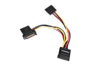 StarTech 4in SATA Power Y Splitter Adapter Cable