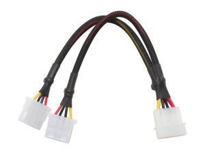 APEVIA CVT1424 1 x 4Pin To 2 x 4Pin Cable